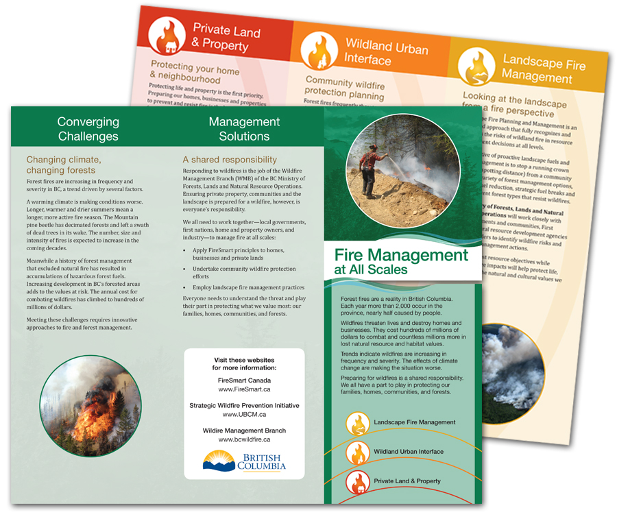 Wildfire Management Branch brochure